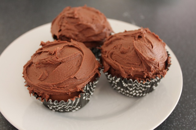 more choc cupcakes