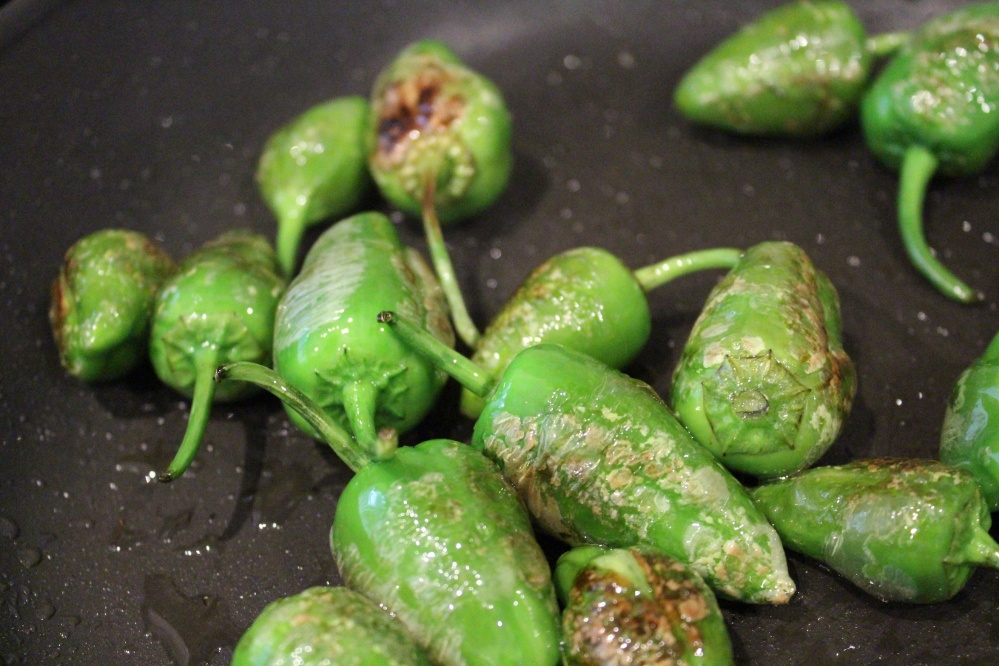 padron peppers cooking