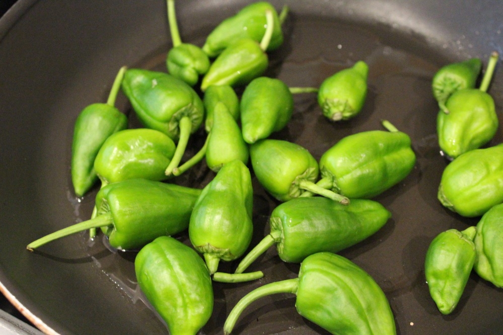 padron peppers raw