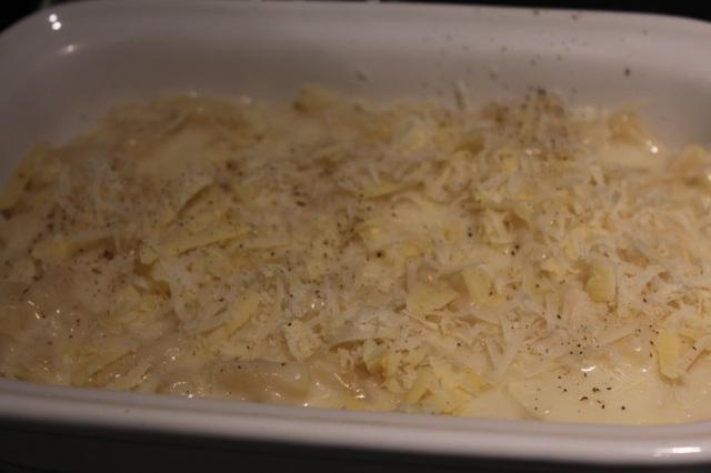 prebaked macaroni cheese