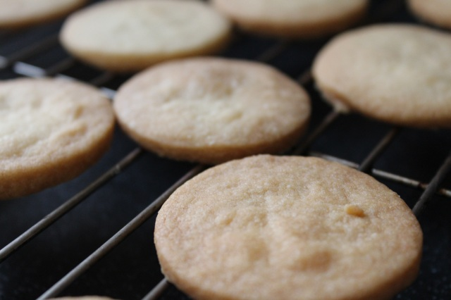 shortbread baked