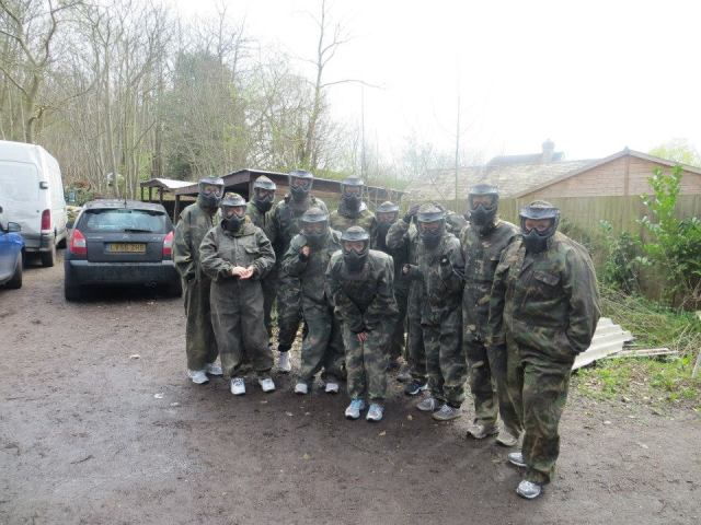 paintballing time